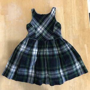 Ralph Lauren Toddler Tartan Dress 3T